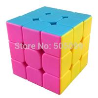 MoYu Mini AoLong Stickerless Magic Cube 54.5mm Pink Version