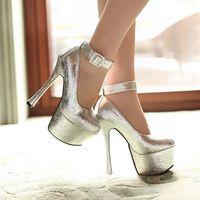 free shipping new fashion high heeled pumps wedding shoes waterproof single shoes 13-6