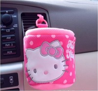 Cary Styling interior accessories Stowing Tidying Anti-Slip Mat with Pink Cartoon Hello Kitty Brand Mobile Cell Phone Holder
