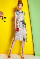 Cotton Dress-1748/Fashion Women Party Dresses/2014 Summer New Desigual Bohemian Dress/S,M,L