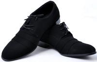 2014 new arrive men's fashion Oxfords shoes nubuck leather shoes Korea wedding Flats shoes for men office career shoes LBX29
