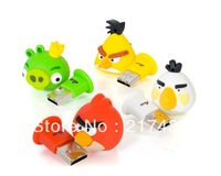 hot selling cartoon birds pendrive usb 3.0 64gb 32gb 16gb 8gb 4gb 2gb free shipping