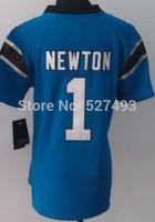 Carol #1 Cam Newton Women Jersey,Cheap American Football Jersey,Embroidery logos,Newton Jersey,Rugby Jerseys