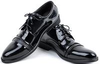 2014 new arrive men's fashion Oxfords shoes leather shoes business wedding Flats 2 color for men office career black shoes LBX32