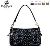 Women's handbag fashion genuine leather serpentine pattern seeds one shoulder cross-body handbag cowhide portable small bag