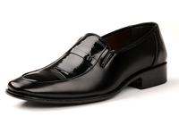 2014 new arrive polo men's fashion Oxfords shoes leather shoes business wedding Flats shoes for men office career shoes LBX24