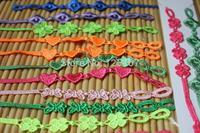 Wholesale baby kids bracelets Italy lace bracelets cute bracelets for kids girl mix style mix colors
