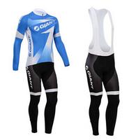 Hot sale/New Arrival/2014 Gia Long Sleeve Bike/ Cycling Jerseys+bib pants(or pants)/Cycling Suit/Cycling Wear/-WL14GA001