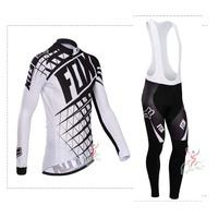 Hot sale/New Arrival/2014 FOX1 Long Sleeve Bike/ Cycling Jerseys+bib pants(or pants)/Cycling Suit/Cycling Wear/-WL14FO01