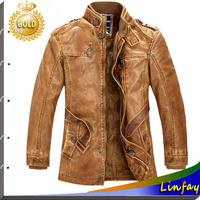 2014 NEW Men Leather Jackets Brand Jaquetas de couro Jacket Casaco Fur Coat Jaqueta Motorcycle Jackets Outdoor Mens Overcoat