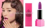 2014 New 15colors Korean  3CE Lipstick Cosmetics High Quality Colorful Lipstick Lip Rouge ( 1pcs/lots)