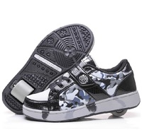 Top Quality Fashion children Roller Skates kids Sneakers boy and girls roller Shoes child sport casual flying shoe Size 30-41