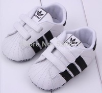 2014 Newborn Soft Baby Toddler boy Shoes First Walkers Sports styles Free Shipping 1pair