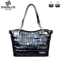 2014 women's fashion handbag genuine leather one shoulder cross-body handbag cowhide women's bags