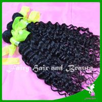 Machine weft high quality indian deep curly hair 2pcs/lot virgin indian virgin hair 5A raw human hair extension free shipping