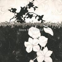Decorate shadow  flowers  Painting Air Brushing  Painting no Frameless oil painting spray painting,inkjet printer