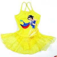 Hot Sale Ballet Dancing Dress Children Girl Kids Swimsuit Swimwear Girls Beachwear Swimming Bathing Suit One-Piece Swimsuit