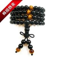 5 natural obsidian 108 beads bracelet transhipped Women apotropaic male