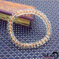 Small fresh crystal natural crystal natural yellow crystal wheel bracelet