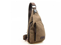 Free Shipping Multi-function Men's Oblique Across Canvas Bag 01