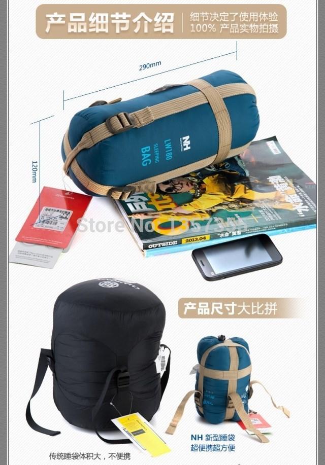 2015 Hot Sale Ultra-light Portable Mini Outdoor Lovers Sleeping Bag Camping Hiking Outdoor Sports Sleeping Bag #9785(China (Mainland))