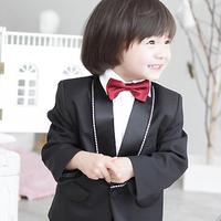 Male child flower girl blazer formal dress  child clothing blazer male child suit