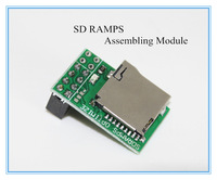 Free shipping with tracking number Newest version Sdramps SD RAMPS Assembling Module for Ramps 1.4 3D Printer BT064