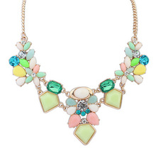 Satr Jewelry 2014 New Arrival Resin Fashion Charm Gem Cute Necklaces & Pendants Fashion Jewelry Jewelery Woman Gift  Sf-17