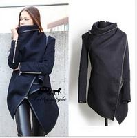 Casaco Feminino 2014 New Winter Coat Hot Sale New Casacos Feminino free Shipping Spring Coat Women Fashion Trench Jacket  E 43