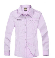 2014 New Arrived Summer Women's Brand Outdoor Fast Dry Long Shirts, Sport Style Casual Quick-dry Shirts For Women