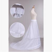 Free shipping yarn train bustle pannier double steel anagua mermaid fish tail accessories wedding dress petticoat