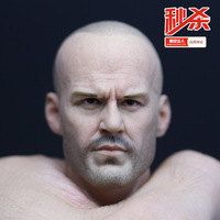 Free shipping 1/6 Jason Statham head carving Support HT/ CG/ TTL/ Phicen action figure