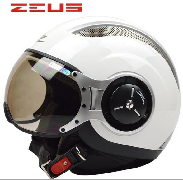 Zeus racing casque demi, casques de moto vélo électrique, open face capacete, la cee dot sûr approuvé!