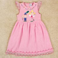 2014 new fashion baby girl dress hot sale lovely girl dress nova carton for kids children H4938