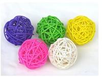 kingart home decoration artificial dried ball door artificial flower Rattan ball Decorative ball