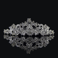 free shipping hot sell butterfly shape hair accessories full crystal rhinestone crystal wedding bridal Crown  sky-j110