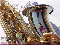 FREE SHIPPING DHL[Sax] Suzuki alto alto E flat Sax instruments of professional grade nickel silver