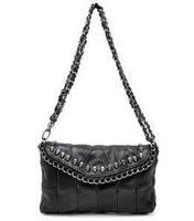New Women's Handbag Punk Skull Bag Sheepskin Women Shoulder Bag Small Evening Bags Vintage Handbag 1111