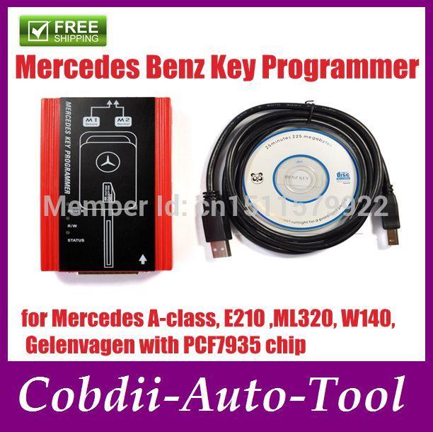 Free shipping!! 2014 Good best Mercedes Benz Key Programmer MB key pro free shipping(China (Mainland))