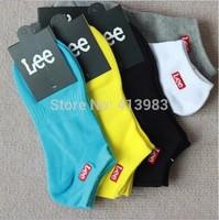 (10pair/Lot)New 2014  Summer  Men Socks  /Cotton Boat Socks /Men Sport Ankle Socks High Quality