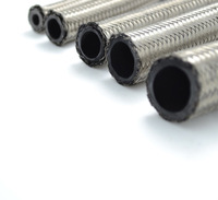 High performance AN 8 AN8 stainless steel hose fuel hose double braided fuel line universal car turbo oil cooler hose