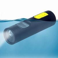 NEW Waterproof Torch camera 1.3MEGE PIXELS CMOS Sports digital mini camcorder DV12 free shipping