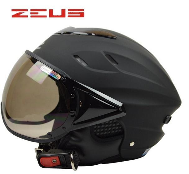 Zeus de carreras casco de la mitad, bicicleta eléctrica motorcasco, a cara descubierta capacete, el dot ece aprobado y de seguridad, sin gastos de envío!