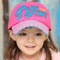 Free Shipping New Cute Hat Children's Baseball Cap Letters Leisure Hats For Boy And Girl CL01439