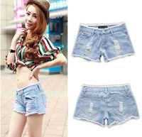 Promotion summer Denim Shorts Fashion Women Jean Shorts Denim Pants with Casual Short Girls Hot Sale hollow out plus sizenz185