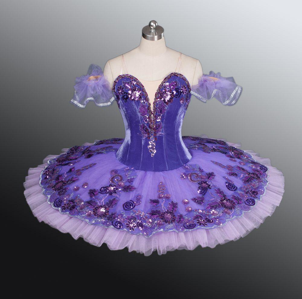 Velvet Purple Ballet Tutu