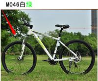 2x13-Mountain Bike /M046 / dual disc / aluminum  24 speed men and women racing / 26 inch bike