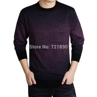 Men's Thin Casual Multicolor Long Sleeve Woollen Sweater