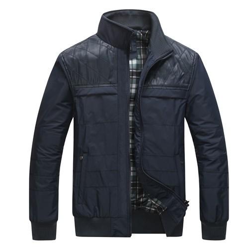 New 2014 autumn winter casual jacket thick warm men coat breathable fit Collar Men jackets big size XL-5XL Drop shipping JM6717(China (Mainland))