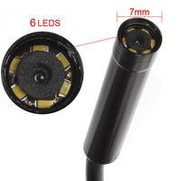 2m Handheld Waterproof Inspection Boroscope Borescope 6 LED Endoscope HD Camera